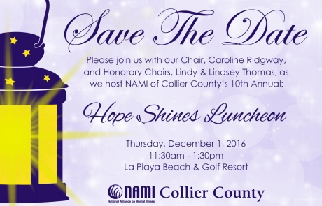 Save the Date – NAMI Luncheon 2016